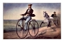 Currier & Ives - The Velocipede
