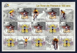 2003 Tour de France 100th Anniversary Stamp Sheet