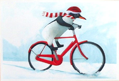 CC3 Cycling Penguin
