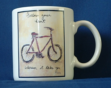 M9 - Flavia - Follow your heart Mug