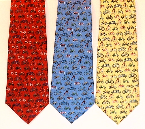 NT 3 - Evolution of the Bicycle Silk Necktie